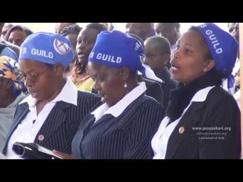 Woman's Guild Commissioning at PCEA Sukari Church