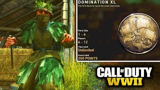 *NEW* DOMINATION XL GAME MODE is AMAZING FOR KNIFING in COD WW2!