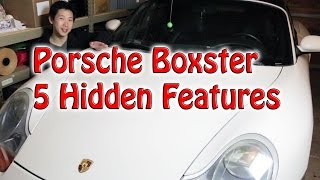 Porsche Boxster 5 Hidden Features