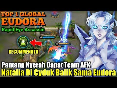 Insane Mage Natalia Ngak Berkutik Kena Eudora Top 1 Global Eudora Rapid Eye Assassin