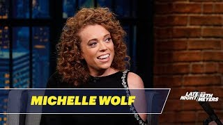 Michelle Wolf Talks About the White House Correspondents' Dinner