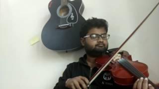 Hua hai aaj pehli baar Violin cover