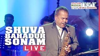 Shuva Bahadur Sonam Live | Bhare Aauchu Sapani Ma | Saxophone