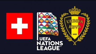 FIFA 19 SWITZERLAND VS BELGIUM UEFA NATIONS LEAGUE