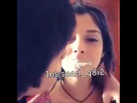 Cute desi girl french kiss from boy friend