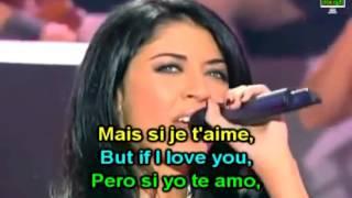 Nolwenn Leroy - Carmen Habanera L'amour est un oiseau rebelle French English Lyrics Paroles