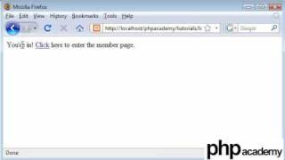 PHP Tutorials: Register & Login: User password change (Part 1)