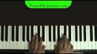 Oceans (Hillsong) - How to play on Piano