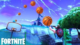 FORTNITE CRAZY BASKETBALL TRICK SHOTS - TOP FUNNIEST FAILS & EPIC WINS MOMENTS IN FORTNITE