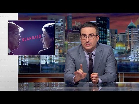 Scandals Last Week Tonight with John Oliver HBO