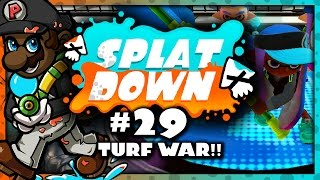 Splatoon - 2 Turf War Matches on Urchin Underpass/Walleye Warehouse! (Splatdown #29)