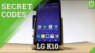 Codes in LG K10 (2017) - Secret Menu / Hidden Options / Tricks