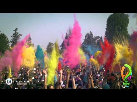Holi Festival Of Colours Mexico City 2014