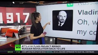 #1917LIVE: Relive Russian Revolution as it happened with interactive website & Twitter project
