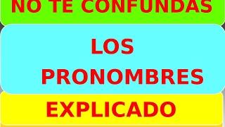 Curso de Inglés - LOS PRONOMBRES - LOS POSESIVOS - EXPLICADOS -