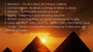 The 7 Hermetic Principles of the Electric Universe Essentials of Practical Alchemy 2016 Class 5