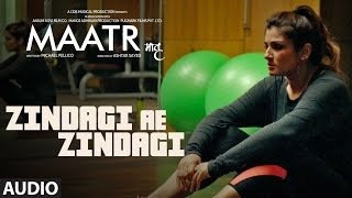 MAATR: Zindagi Ae Zindagi Full Audio Song | RAHAT FATEH ALI KHAN, RAVEENA TANDON | T-SERIES