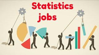 Jobs after B.Sc  statistics