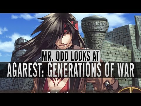 Mr. Odd Looks at Agarest Generations of War PC Preview First Impressions Gameplay Review