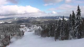 skiing with me from snejanka to studenetz - pamporovo bulgaria