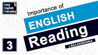 How to Learn English at Home   Importance of Reading & Uses of Reading