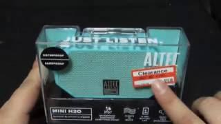 Altec Mini H20 Unboxing!