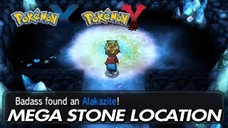 Pokemon X & Y - Where To Find Alakazite / Location