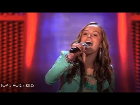 Top 5 Voice Kids Blind Auditions (Netherlands) Video Clip