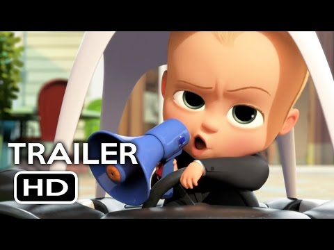 The Boss Baby Official Trailer #2 (2017) Alec Baldwin, Lisa Kudrow Animated Movie HD