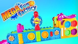 Play Doh Mega Fun Factory Machine The Playdough Power Tool! Toy Playdoh Videos