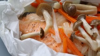Easy Microwave Steamed Salmon