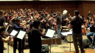 Fared Shafinury with Austin Youth Orchestra- Yar-e Dabestani