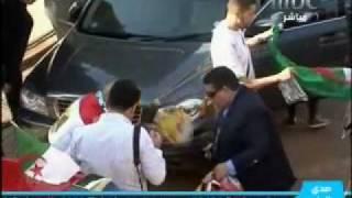مصريين يستضيفون جزائريين في جنوب إفريقيا - وسوف فانز.flv