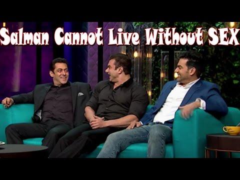 Xxx Mp4 Salman Khan Cannot Live Without SEX Koffee With Karan 5 3gp Sex