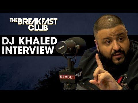 DJ Khaled Speaks On His Relationship With Birdman His New Jordan Sneaker & Dropping New Music