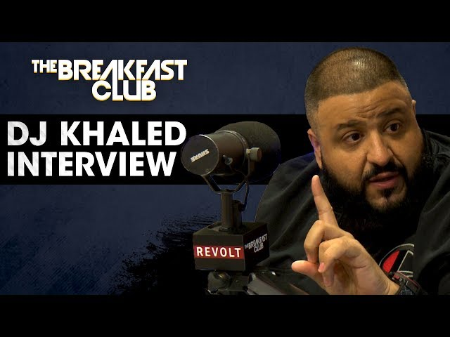 DJ Khaled Speaks On His Relationship With Birdman, His New Jordan Sneaker & Dropping New Music