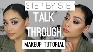 Step by Step Talk Through Makeup Tutorial