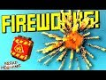 Fireworks Experiments! [Don't Try At Home 💥] - Scrap Mechanic Gameplay