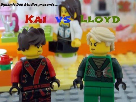 LEGO Kai vs Lloyd