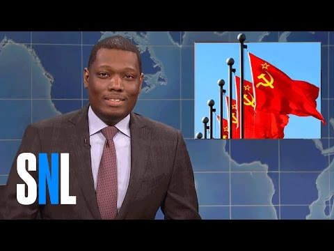 Weekend Update on Russia Hacking the Election SNL