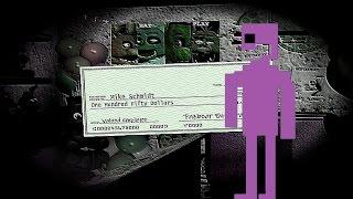 BONUS 'PURPLE MAN' MINI-GAME!? | Five Nights At Freddy's 3 END (Fan Made) - Part 3