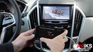 2016 Cadillac SRX NAViKS HDMI Video Interface Add: Navigation, Rearview Camera, Smartphone Mirroring