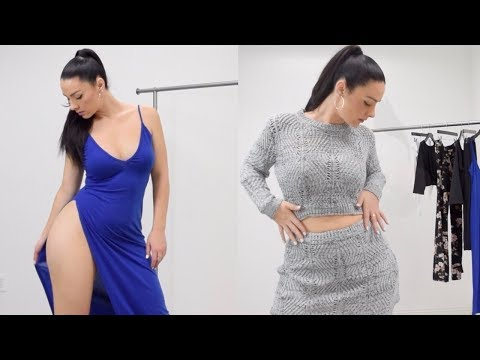 Xxx Mp4 Turn Casual Into Sexy Try On Haul GAMISS 3gp Sex