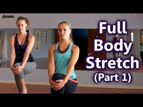 Full Body Stretches, How to Stretch for Beginners, Part 1: Upper Body, Home Workout Follow Along
