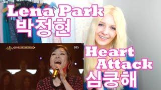 Lena Park - Heart Attack || 박정현 - 심쿵해 (Reaction)