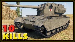 FV4004 Conway - 10 Kills - 1 VS 4 - World of Tanks Gameplay