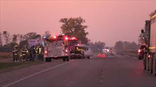 Fatal Crash Between Car And Beet Truck Near Climax, MN
