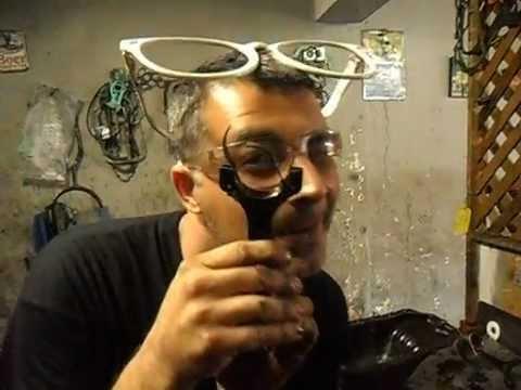 Dr Macete Luz do Óleo Piscando