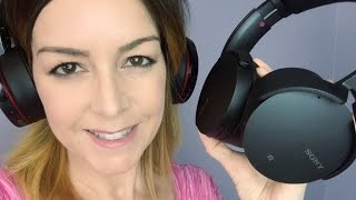 Sony Headphones  MDR-XB950B1 and MDR-XB950N1 blogger review