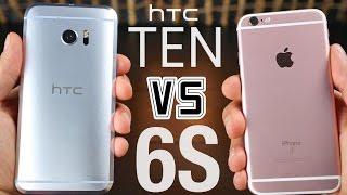 HTC 10 vs iPhone 6S Ultimate Comparison!